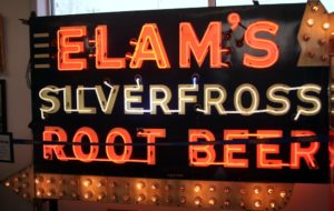 Elam's Root Beer Sign